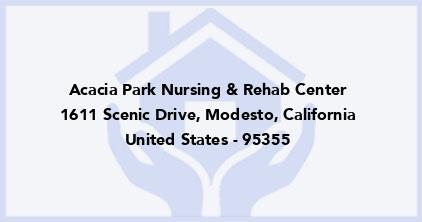 Acacia Park Nursing & Rehab Center