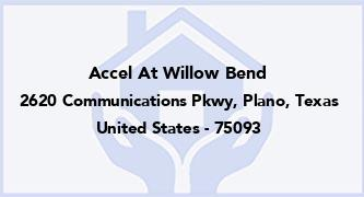 Accel At Willow Bend