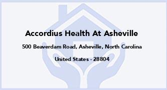 Accordius Health At Asheville