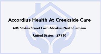 Accordius Health At Creekside Care