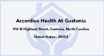 Accordius Health At Gastonia