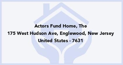 Actors Fund Home, The