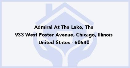 Admiral At The Lake, The