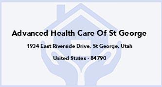 Advanced Health Care Of St George