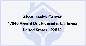 Afvw Health Center