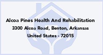 Alcoa Pines Health And Rehabilitation