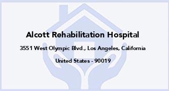 Alcott Rehabilitation Hospital