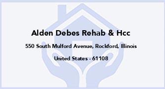 Alden Debes Rehab & Hcc