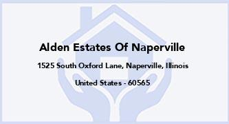 Alden Estates Of Naperville
