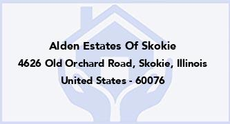 Alden Estates Of Skokie