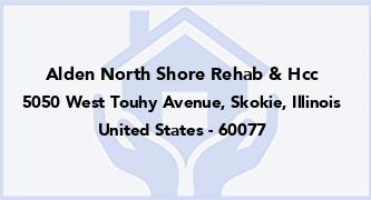 Alden North Shore Rehab & Hcc