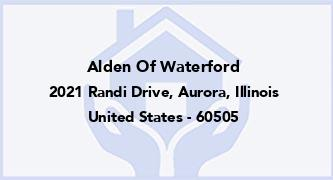 Alden Of Waterford