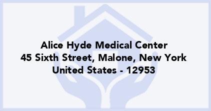 Alice Hyde Medical Center