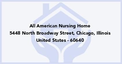 All American Nursing Home