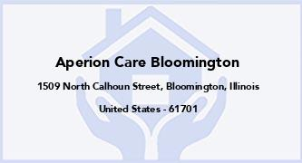 Aperion Care Bloomington