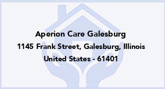 Aperion Care Galesburg