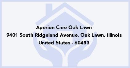 Aperion Care Oak Lawn