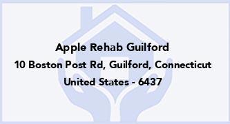 Apple Rehab Guilford