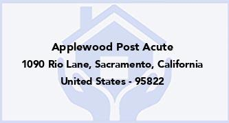 Applewood Post Acute
