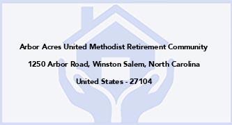 Arbor Acres United Methodist Retirement Community
