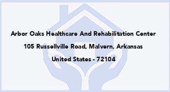Arbor Oaks Healthcare And Rehabilitation Center