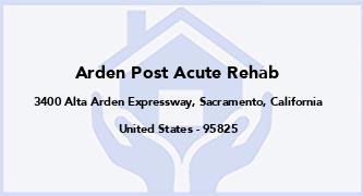 Arden Post Acute Rehab