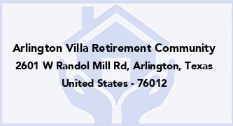 Arlington Villa Retirement Community