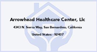 Arrowhead Healthcare Center, Llc