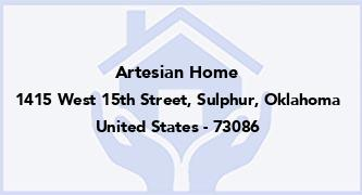 Artesian Home