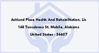 Ashland Place Health And Rehabilitation, Llc