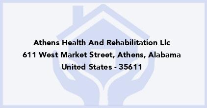 Athens Health And Rehabilitation Llc