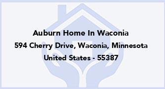 Auburn Home In Waconia