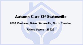 Autumn Care Of Statesville