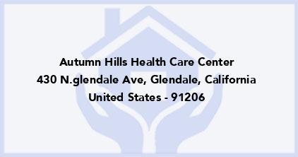 Autumn Hills Health Care Center