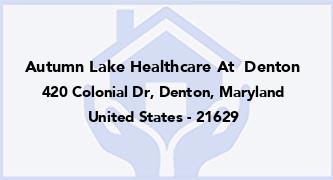 Autumn Lake Healthcare At  Denton