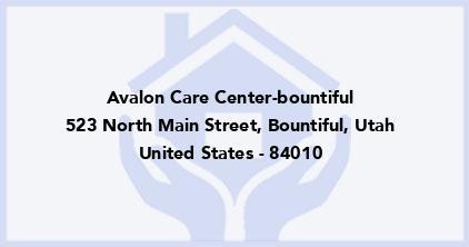 Avalon Care Center-Bountiful