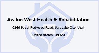 Avalon West Health & Rehabilitation
