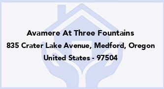 Avamere At Three Fountains