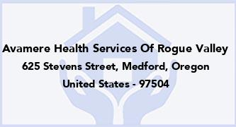 Avamere Health Services Of Rogue Valley