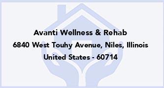 Avanti Wellness & Rehab