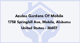 Azalea Gardens Of Mobile