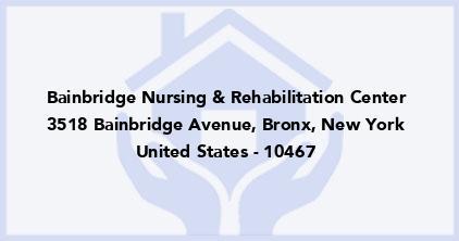 Bainbridge Nursing & Rehabilitation Center