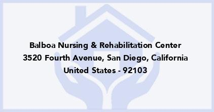 Balboa Nursing & Rehabilitation Center