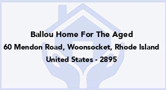Ballou Home For The Aged
