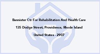 Bannister Ctr For Rehabilitation And Health Care