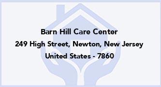 Barn Hill Care Center