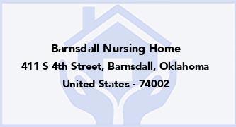 Barnsdall Nursing Home