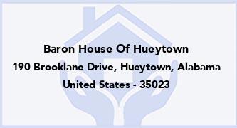 Baron House Of Hueytown