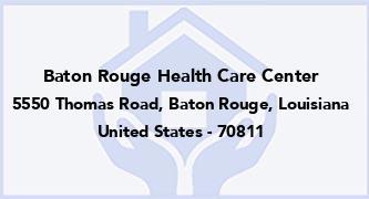Baton Rouge Health Care Center