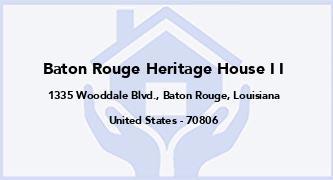 Baton Rouge Heritage House I I
